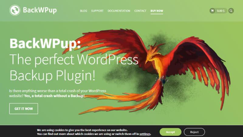 BackWPupのページ
