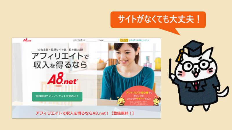 A8.netサイト
